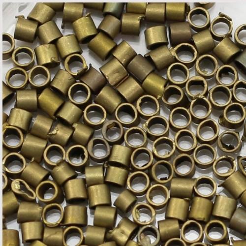 Tube à écraser bronze 2mm x 200pcs