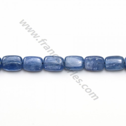 Cyanite rectangle 6*8mm x 2pcs