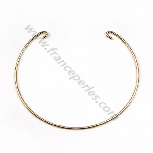Gold filled 14k Interchangeable Cuff Bracelet  70mmx1.27mm x 1pc