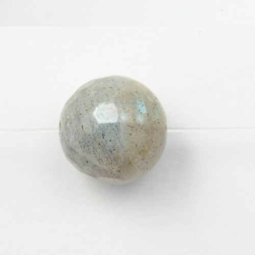 Labradorite Faceted Round 10mm x 2pcs