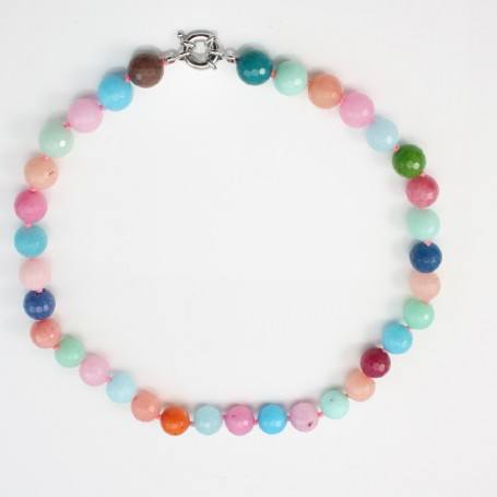 Simple Necklace jade tinted