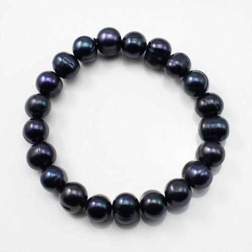 Bracelet Freshwater Pearl  black