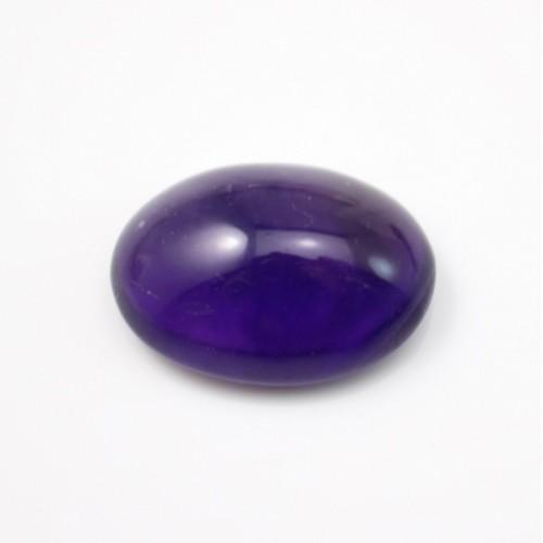 Cabochon amethyste ovale 16*22mm x 1pc