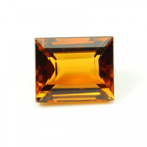 Citrine cut Emeraude