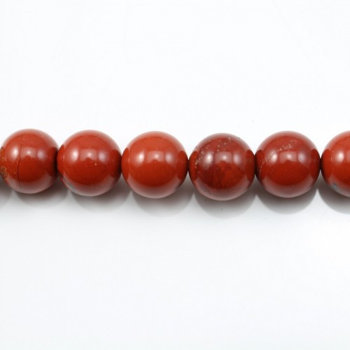 Red Round Jaspe  6mm X 40cm