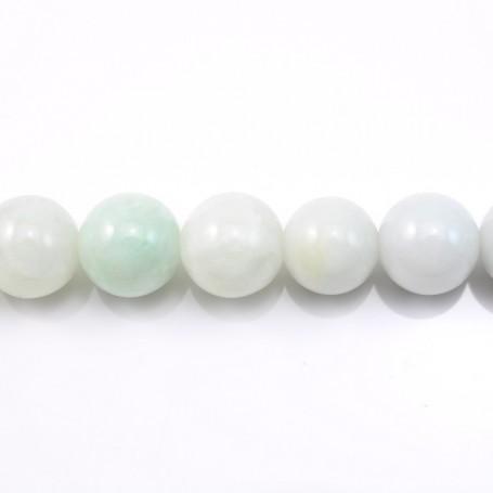 Jade nature round 13mm  x 40cm
