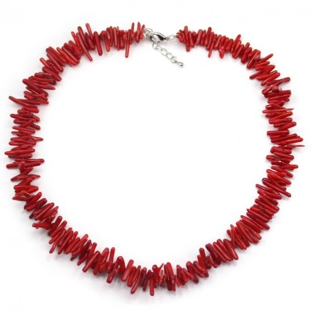 Simple nacklace tube BAMBOO DE MER ROUGE