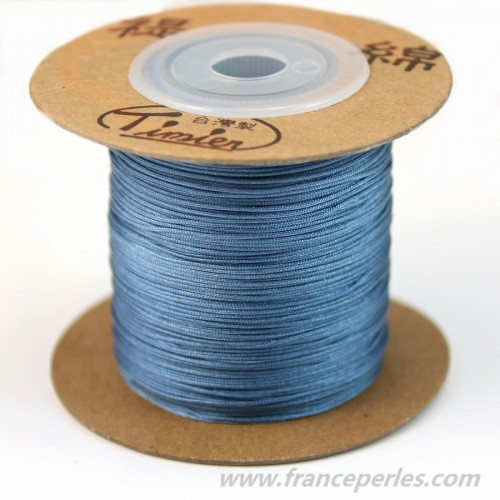Bleu jeans thread polyester 0.5mm x 5m