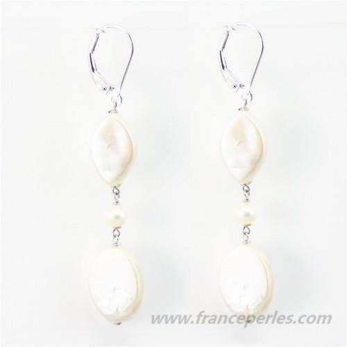 Earring Freshwater Pearl
