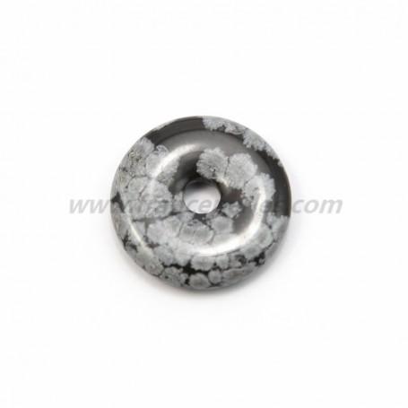 Obsidian sownfall donut 30mm*6mm*4.8mm