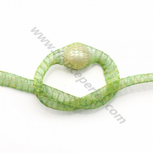Wire mesh 6mm jade green x 91.4cm