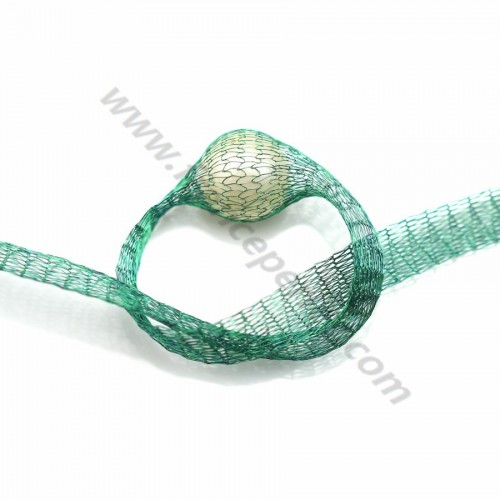 Wire mesh 6mm green x 91.4cm