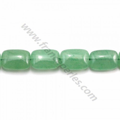 Rectangle aventurine 10*14mm x 40cm
