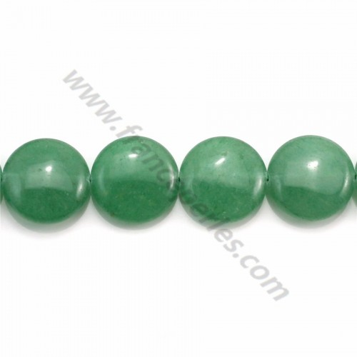 Aventurine faceted drop 6*8mm x 40cm