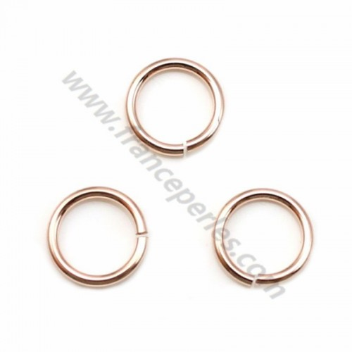 14k rose gold filled jump rings open 0.76x6mm x 10pcs