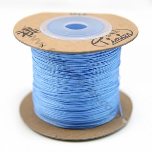 Fil polyester bleu ciel 0.5mm X 180m