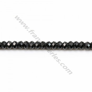 Spinel Faceted Rondelle 2x3mm x 35cm