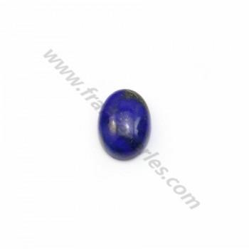 Cabochon Lapis-lazuli oval 6*8mm x 2pcs