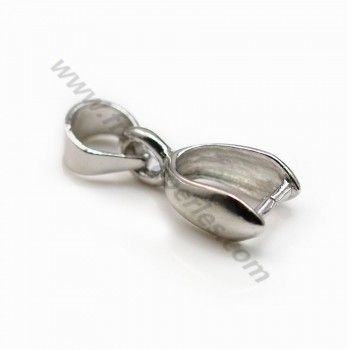 Bail, Silver 925 , 6*15mm X  2pcs