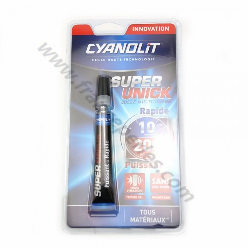 "Colle Cyanolit, ""super unick"" colle rapide multi-usage x 1pc"