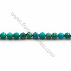 Turquoise Rondelle Average 4 x 6mm x 40cm
