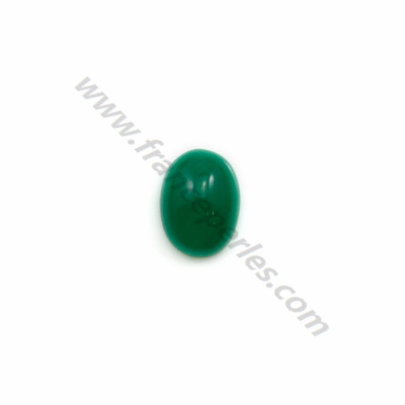 42ca623fd Green aventurine cabochon, in oval shaped, 6*8mm x 1pc