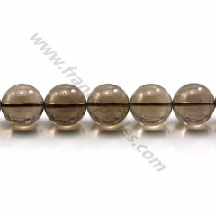 Smoky Quartz Round 18mm X 40cm