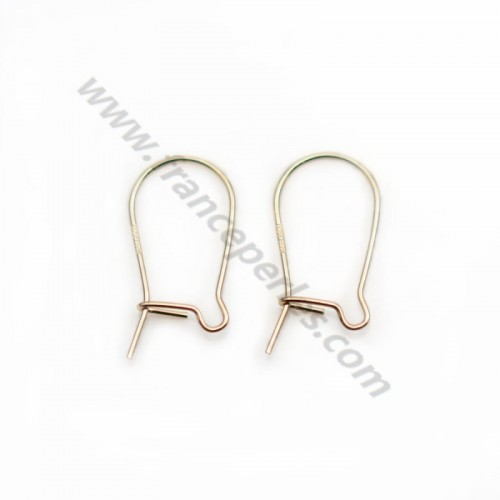 925 sterling silver earwires10x20mm x 6pcs