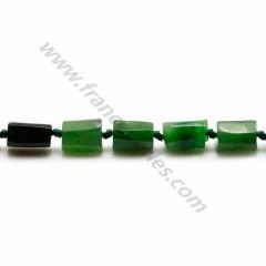 Jade baroque 8*12mm x 40cm