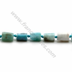 Larimar in baroque shape x 40cm