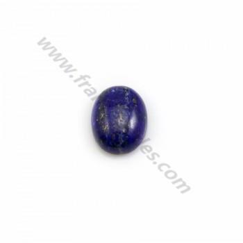Cabochon Lapis-lazuli 7*9mm x 1pc