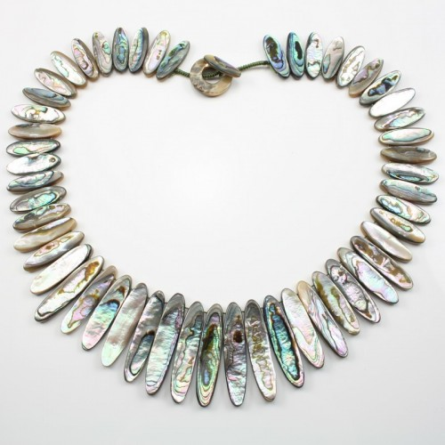 Simple Necklace Abalone Nacre
